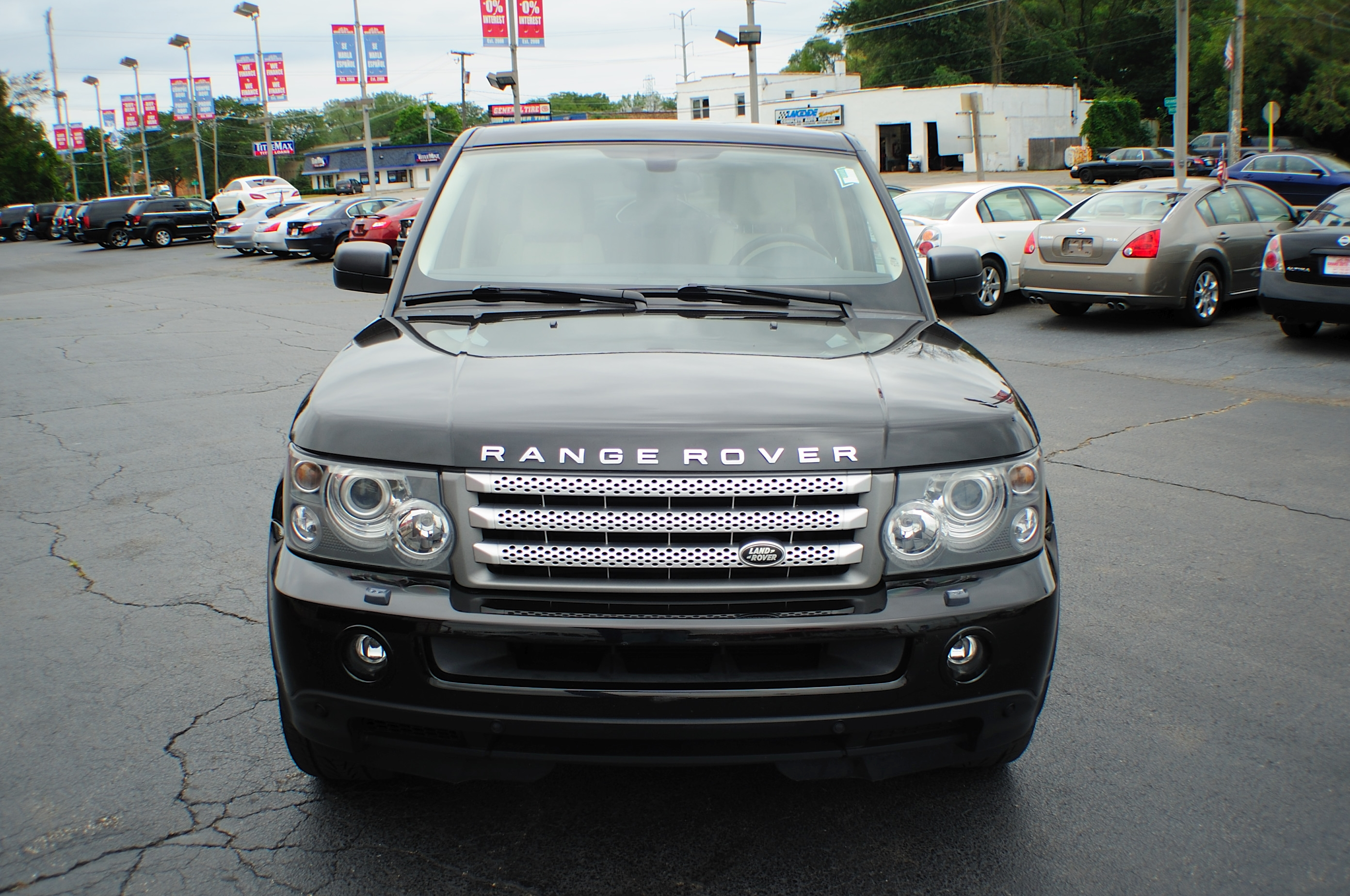 2006 Land Rover Range Rover Black Sport Supercharged Nav 4x4