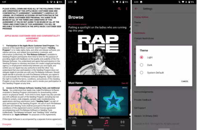 Apple Enables Dark Mode Feature In Android Apps