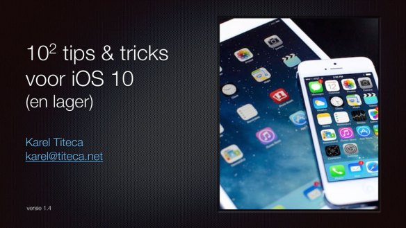 iOS tips & tricks