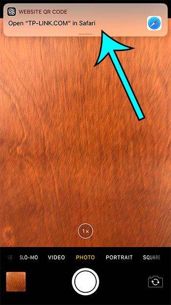 how to scan qr codes from the camera app on your iphone