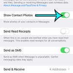 How to Show Contact Photos on an iPhone 7