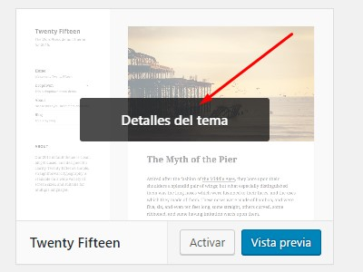 Eliminar tema de WordPress