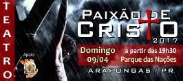 Paixão de Crito - 09/04/2017