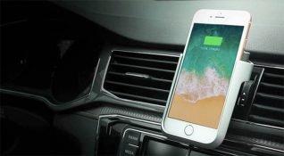 Kablosuz şarj destekli akıllı telefon tutucusu: Boltron