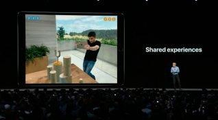 Apple WWDC 2018'de ARkit 2'yi tanıttı