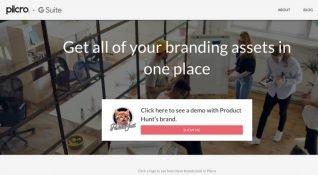 G Suite kullanıcıları için logoları tek bir yerde toplayan platform: Pilcro