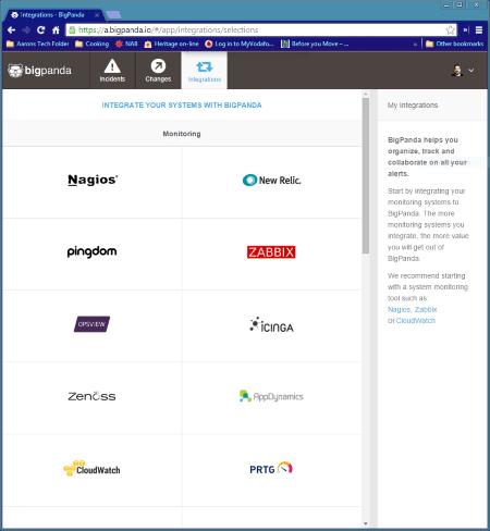 BigPanda's integration with helpdesk ticketing software