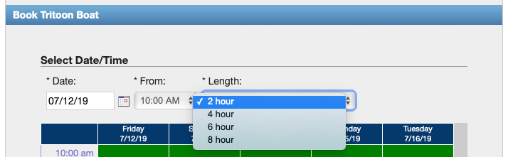 Online booking - set lengths.png