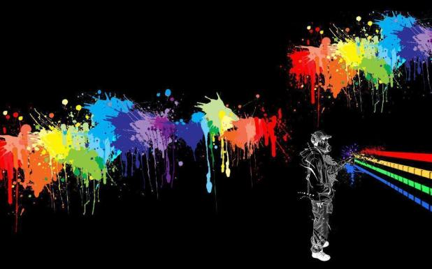 1280 × 800 Spry Paint Download Wallpaper