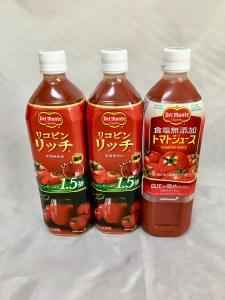 応募の為に買ったデルモンテのトマトジュース