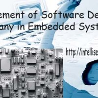 Involvement of Software Development Company in Embedded Systems