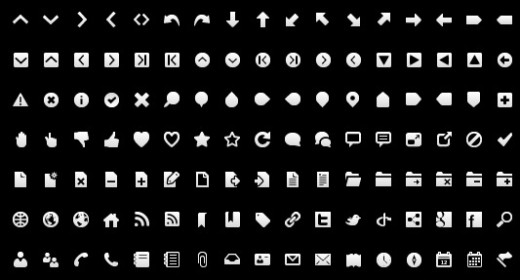 Ücretsiz Wireframe Toolbar Icons