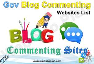 Gov Blog Commenting Sites List