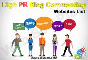 High PR Blog Commenting Sites List
