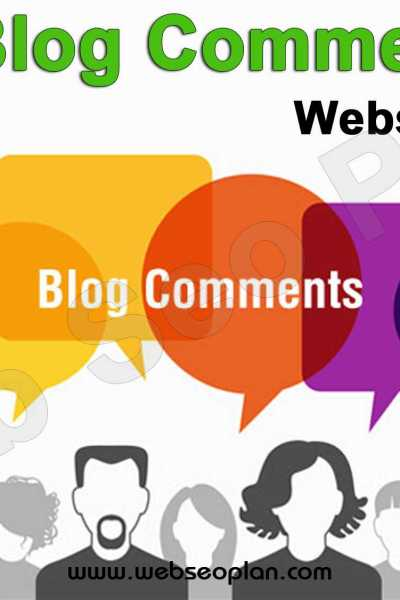 Top Blog Commenting Sites List