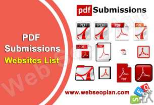 PDF Submissions Sites List