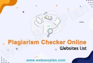 Plagiarism Checker Online