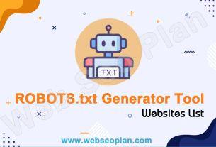 ROBOTS.txt Generator Tool