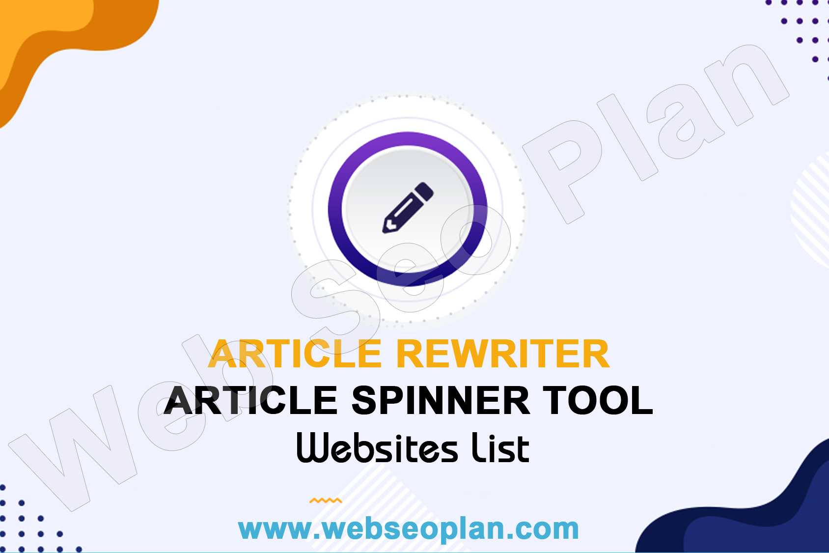 Article Rewriter And Article Spinner Tool