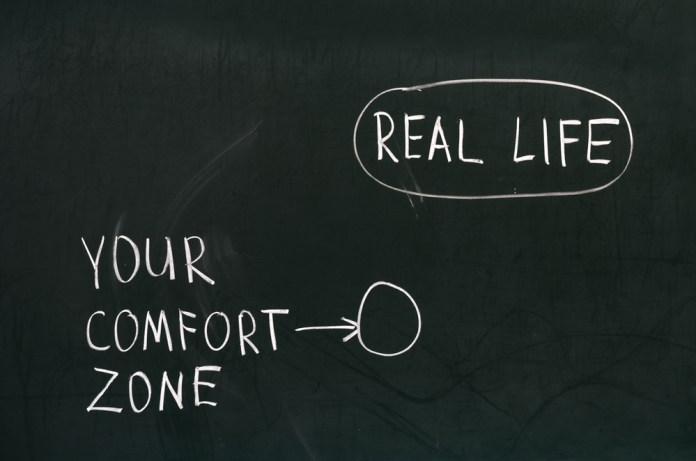 Step Out Of Your Comfort Zone Achieve Success