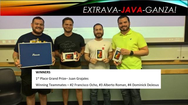 FIU STARS: Extrava-Java-Ganza Winners