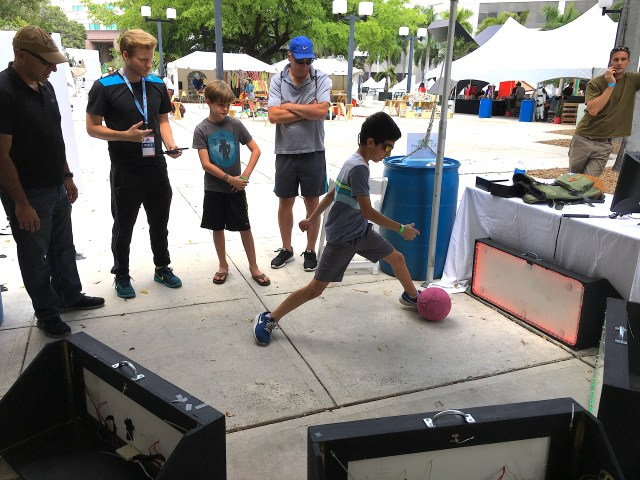 Skill Court Highlighted at Miami Maker Faire | School of Computing and Information Sciences