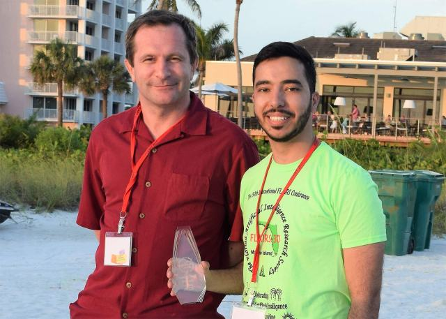 Graduate Student, Deya Banisakher wins Best Poster at FLAIRS Conference