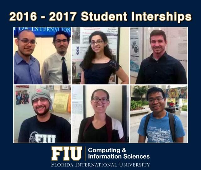 2016-2017 Student Internships