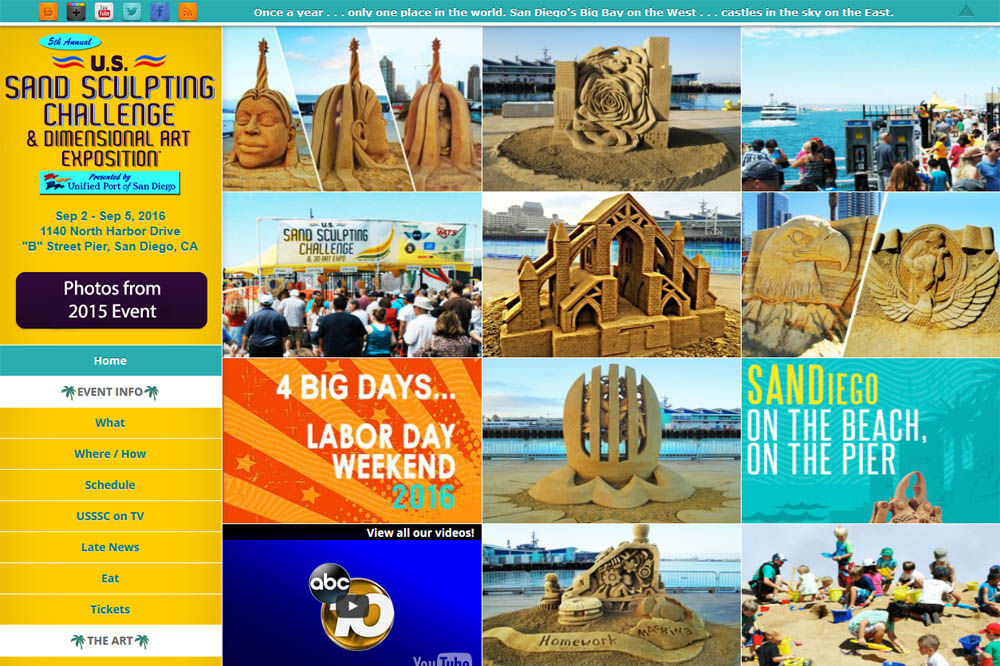 US Sand Sculpting Challenge