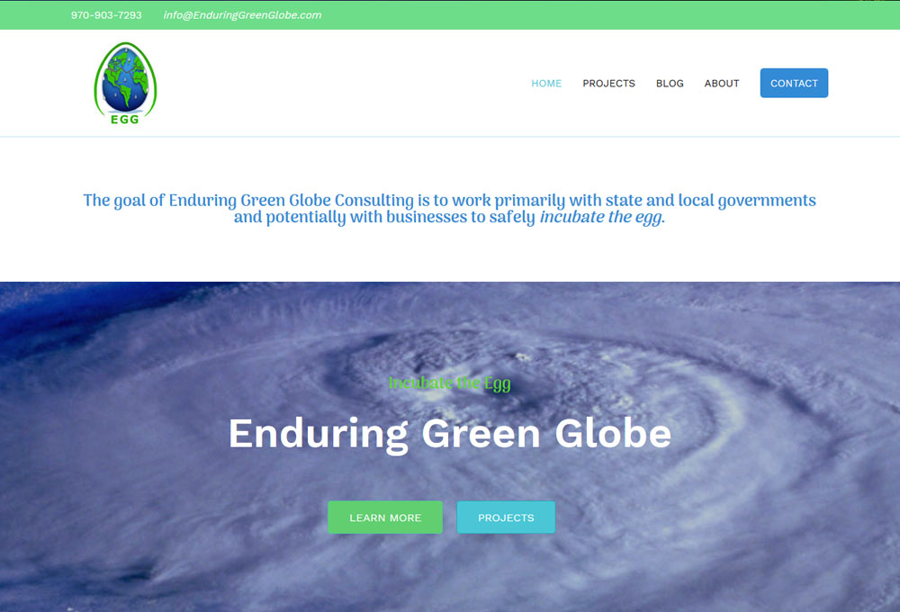 Enduring Green Globe