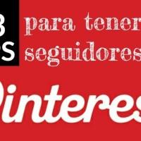 23 Tips para tener más seguidores en Pinterest