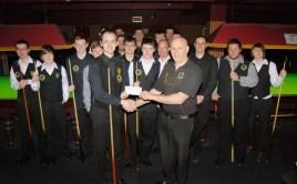 Fundraising Darran Lock England Team 2011