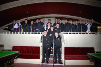 Gold Waistcoat Tour Event 2 Players 2009 10