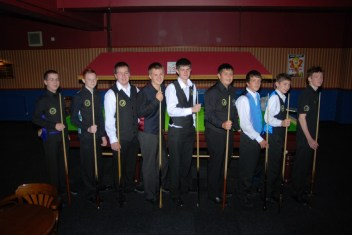 Silver Waistcoat Tour Event 1 Players 2009-10