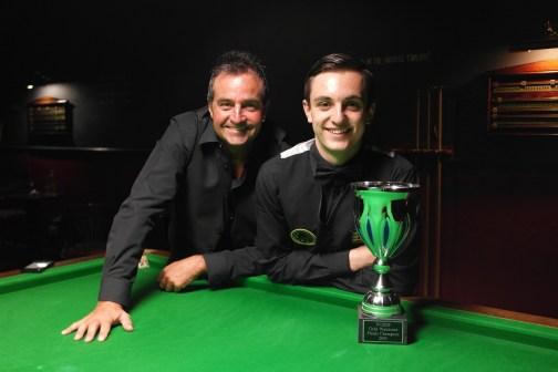 Gold Waistcoat Masters Finalists - Eddie Manning & Haydon Pinhey 2015-16