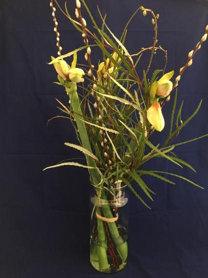 Voorjaarsboeket met Amaryllis - roze
