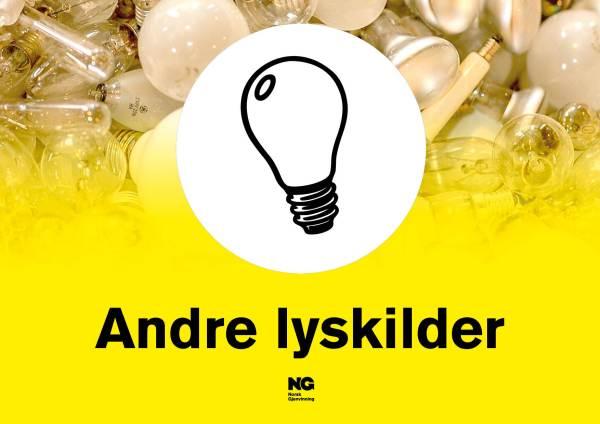 Klebemerke A4 ANDRE LYSKILDER