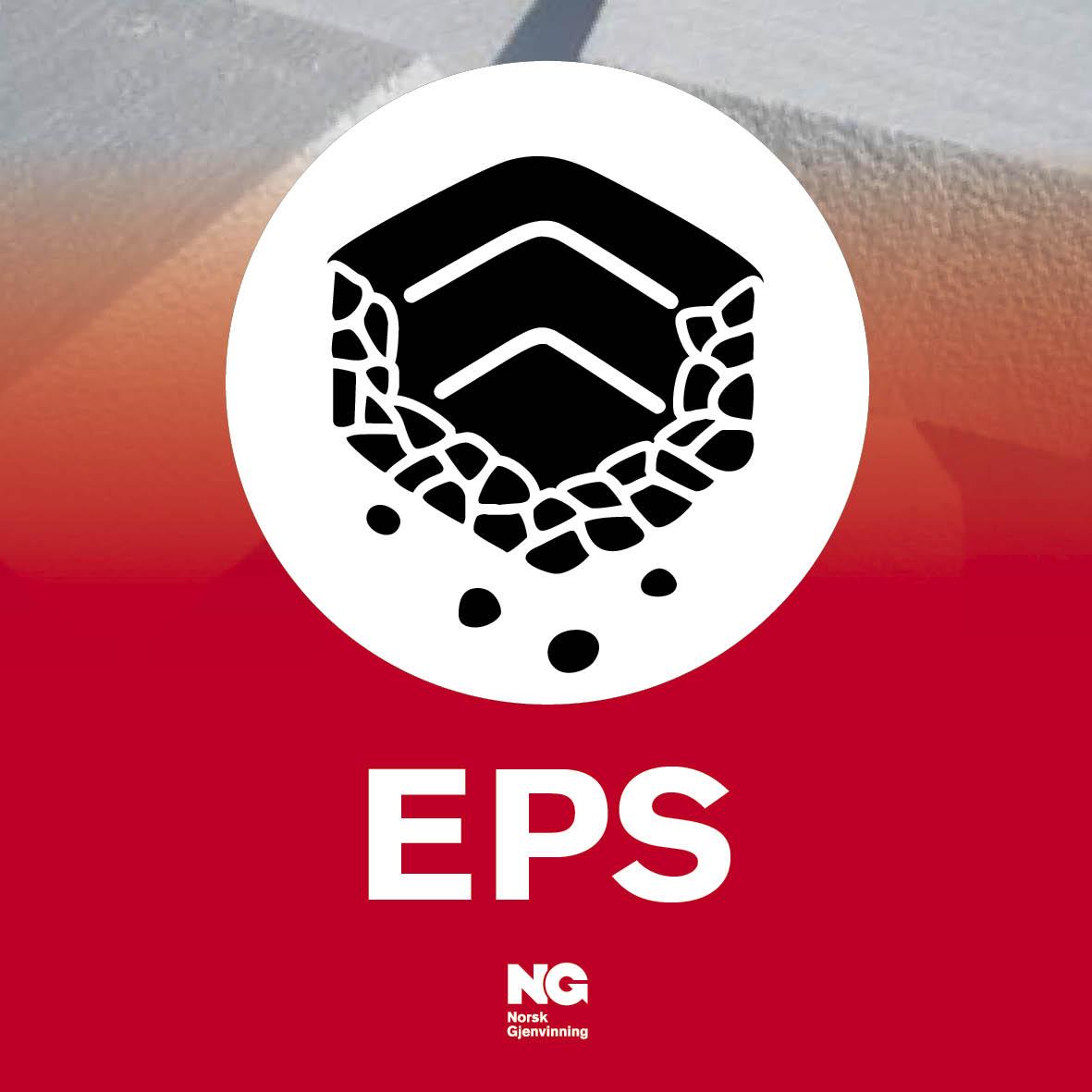 EPS Klebemerker til innendørs beholdere 10x10 cm