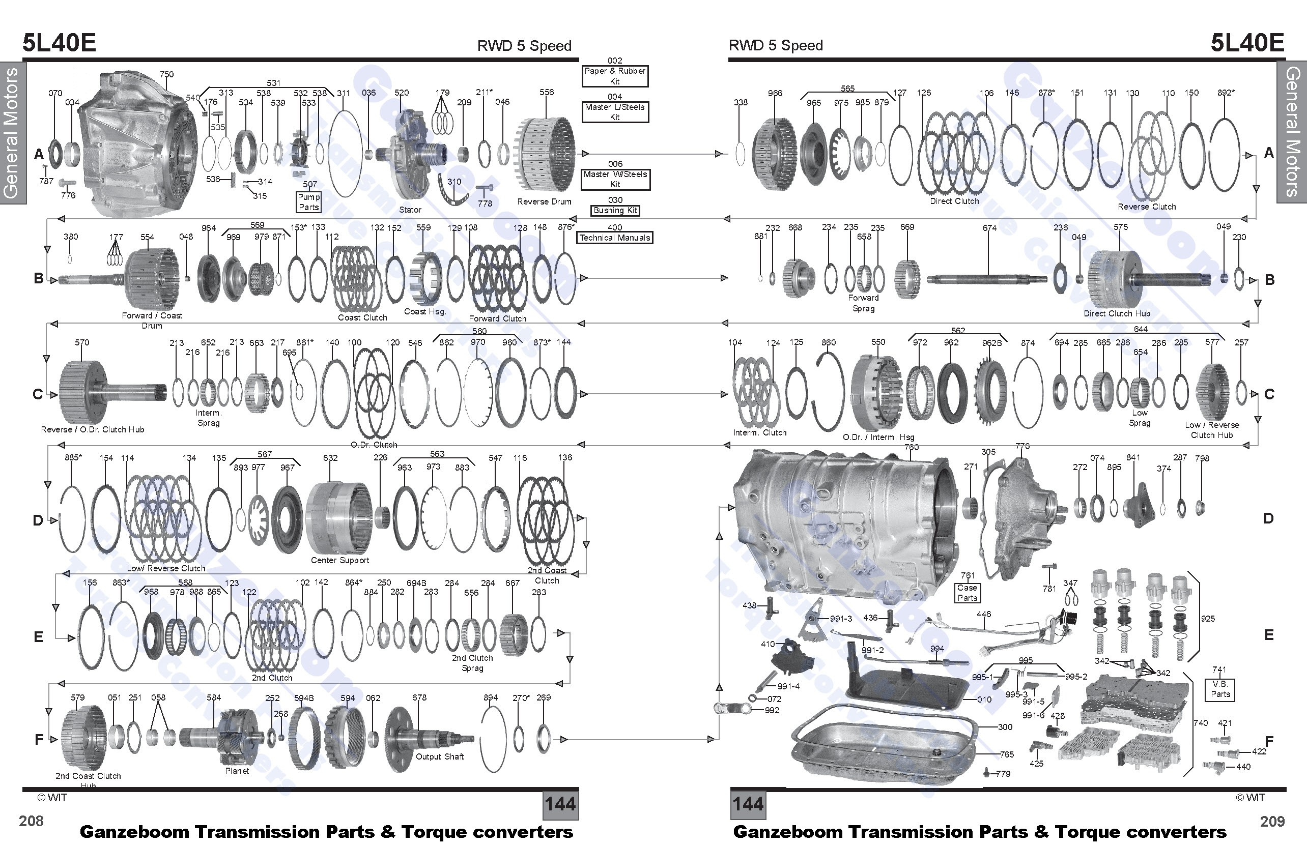 Wrg 5l40e Transmission Wiring Diagram