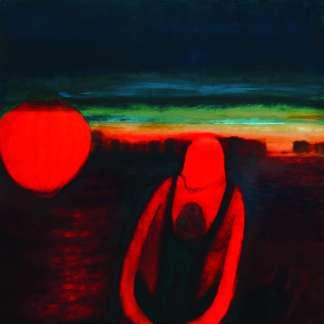 "Artist: Heike Arndt (DK) , Titel: "" Luggage serie "" , Oilpainting"