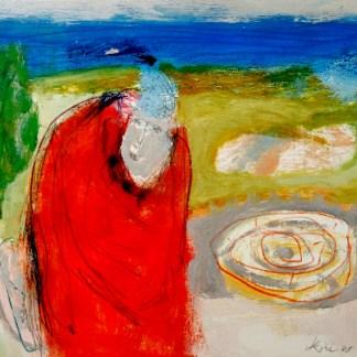 Passagio 11 Heike Arndt oil on paper