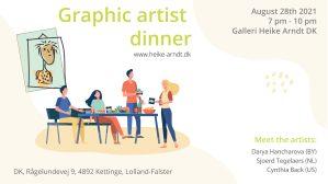 Artist Dinner Kettinge 2021