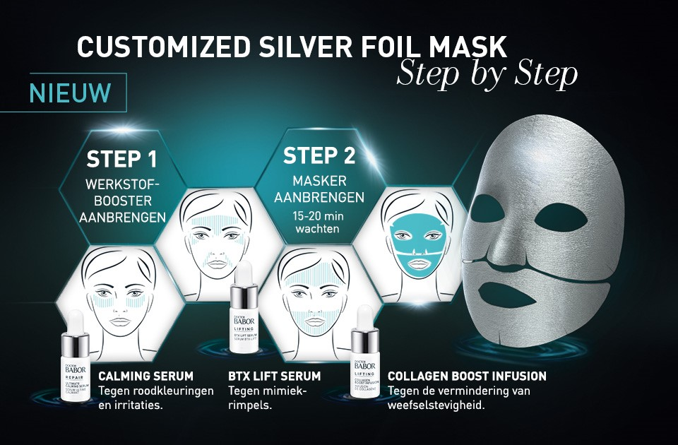 Doctor BaborLifting Cellular Customized Silver Foil Face Mask