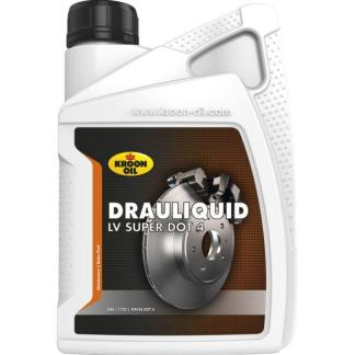 1 L flacon Kroon-Oil Drauliquid-LV Super DOT 4