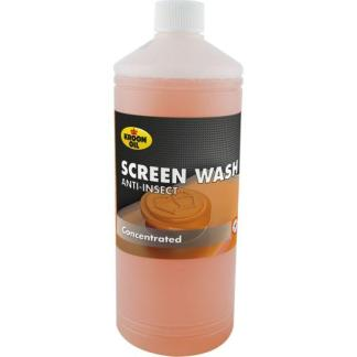1 L flacon Kroon-Oil Screen Wash Anti-Insect