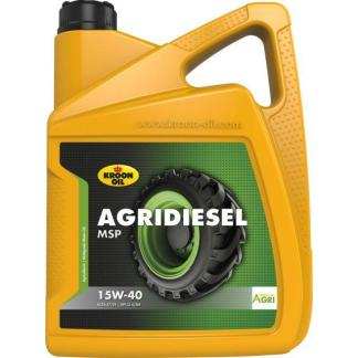 5 L can Kroon-Oil Agridiesel MSP 15W-40