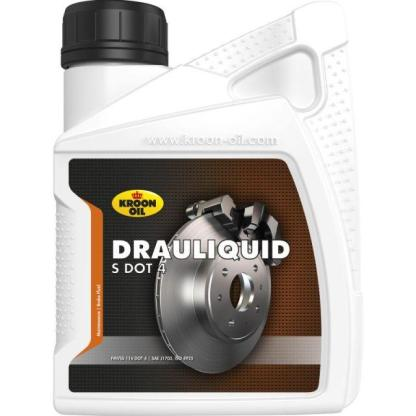 500 ml flacon Kroon-Oil Drauliquid-S DOT 4