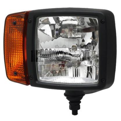 — 4551SA 996120011 — voor staande montage, met H7-dimlicht en H3-grootlicht, breedtelicht en zijdelings bevestigd knipper —