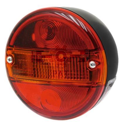 — 4552SE 001685201 — achter-, rem- en knipperlicht,  met kentekenverlichting,  Toelating: E12 7146   12V21WK / P21W, <br> —