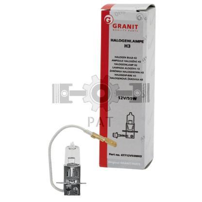 — 47712V55WH3 — kop-, mist-, werklamp en zwaailamp PK 22 s —